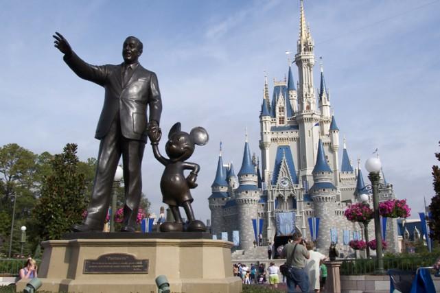 Walt Disney a annoncé, vendredi, qu'elle a éliminé 1900 postes dans deux de ses... (Photo: Bloomberg)
