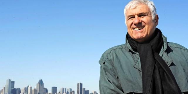 Dan Sergiu Hanganu, 70 ans, photographié sur le... (Photo David Boily, La Presse)