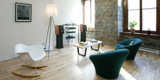 Dans le salon, la lumière et la simplicité... (Photo Jocelyn Bernier, Le Soleil)