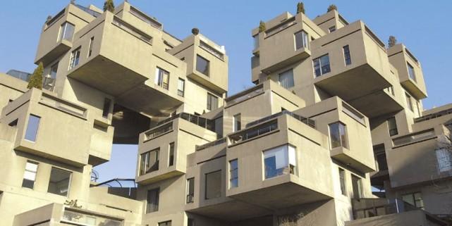 Habitat 67, à Montréal, l'une des «1001 merveilles... (Photo Alain Roberge, archives La Presse)