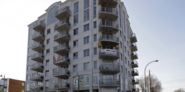 Le projet se compose de 40 appartements en... (Photo Robert Mailloux, La Presse)