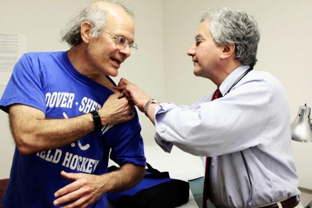 Selon l'AMQ, l'implantation du Dossier Santé Québec permettrait... (Photo: Archives The Boston Globe)