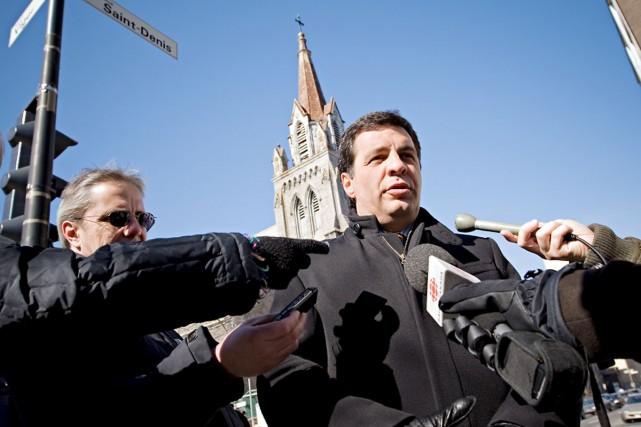 Benoit Labonté... (Photo: Patrick Sanfaçon, archives La Presse)