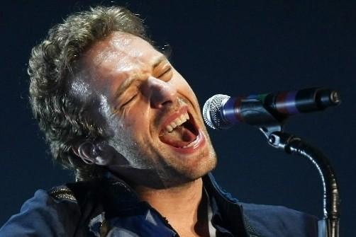 Chris Martin, le chanteur du groupe Coldplay, qui... (Photo:Reuters)