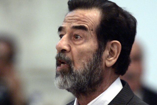 Saddam Hussein... (Photo: Archives AP)