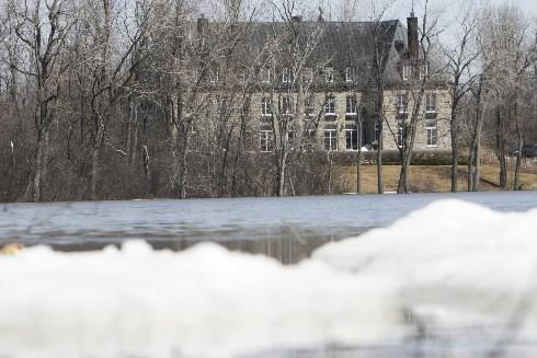 La Sécurité civile du Québec garde un oeil attentif sur une vingtaine de... (Photo: archives La Presse)