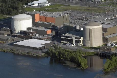 La centrale Gentilly-2...