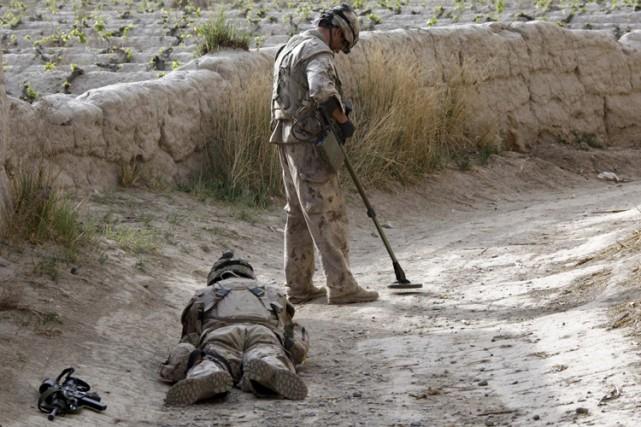 Les engins explosifs improvisés sont devenus un fléau... (Photo: Reuters)