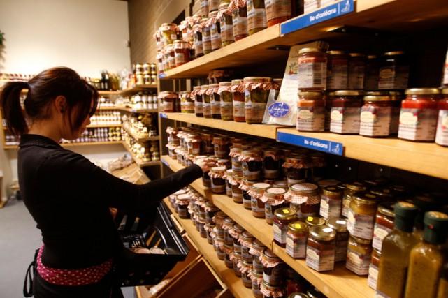 Les achats impulsifs à l'épicerie compteraient pour 40%,... (Photo: La Presse)