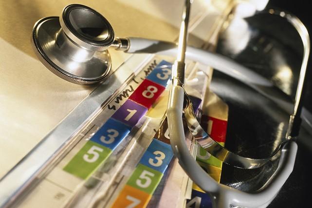 L'informatisation du réseau de la santé prend du retard. Il faudra encore de... (Photothèque La Presse)