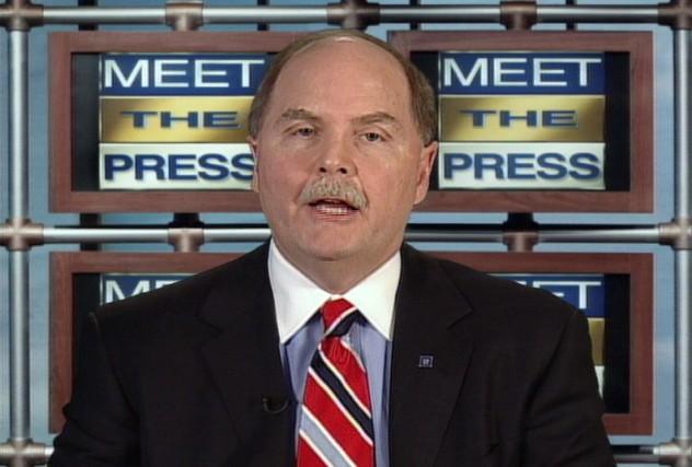 Fritz Henderson, le nouveau pdg de General Motors,... (Photo: AFP)