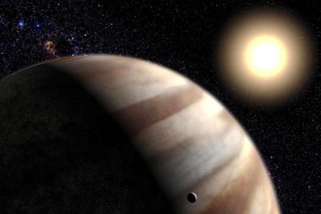 La planète Jupiter avale ses lunes.... (Photo: AFP)