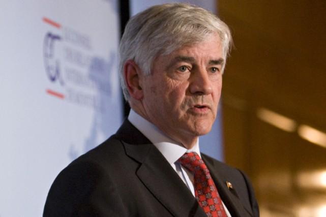 Le ministre des Affaires étrangères du Canada, Lawrence... (Photo: La Presse)