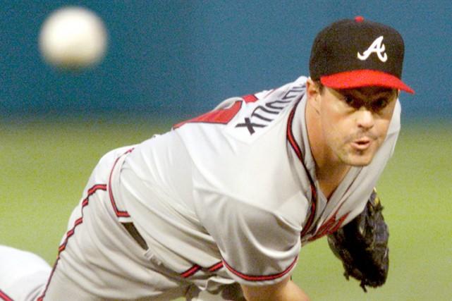 Les Braves d'Atlanta rendront hommage à leur ancien lanceur Greg Maddux en... (Photo: Reuters)