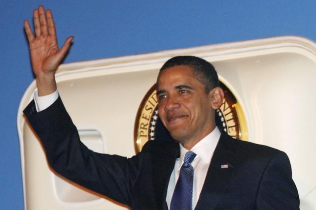 Le président américain Barack Obama effectue lundi et mardi une visite en... (Photo: Reuters)