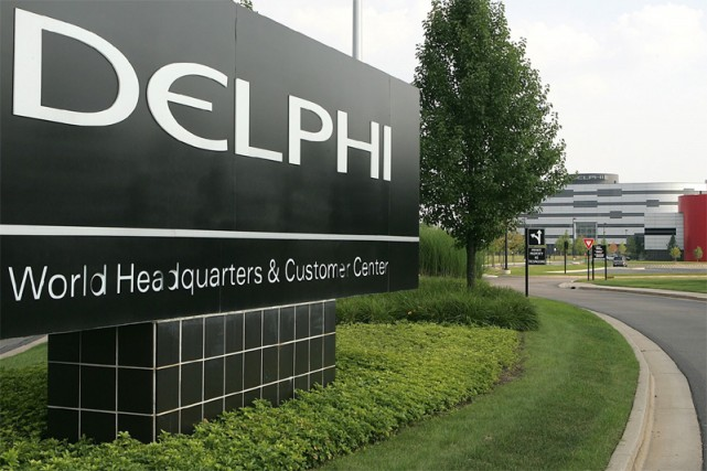 L'équipementier automobile américain Delphi, en grandes difficultés... (AP)