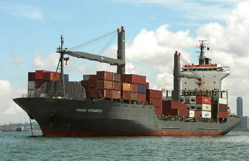 Le navire Hansa Stavanger a été capturé par... (Photo: AP)