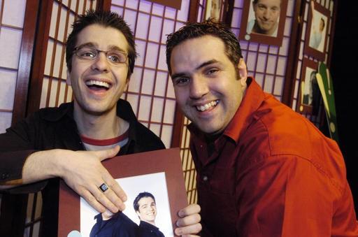 Dominic et Martin... (Archives La Tribune, Claude Poulin)