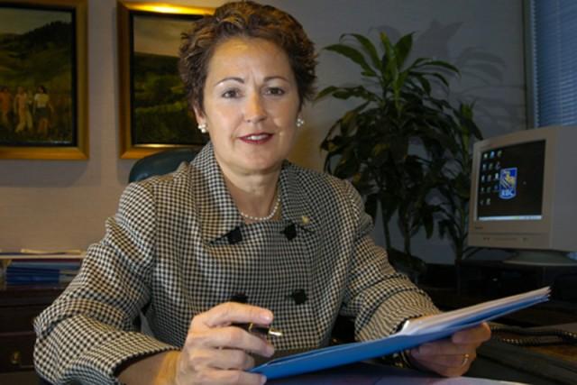 Micheline Martin, présidente de RBC Banque Royale au... (PHOTO RÉMI LEMÉE, ARCHIVES LA PRESSE)