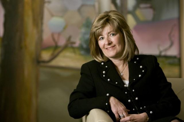 Patricia Curadeau-Grou, chef des finances et vice-présidente exécutive,... (PHOTO ANDRÉ TREMBLAY, LA PRESSE)