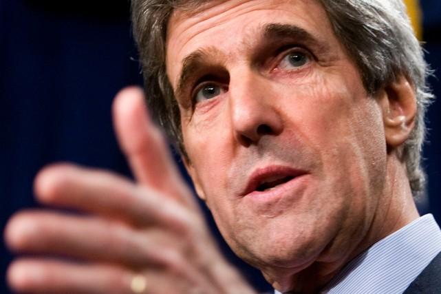 L'influent sénateur démocrate américain John Kerry a demandé vendredi... (Photo: Getty)