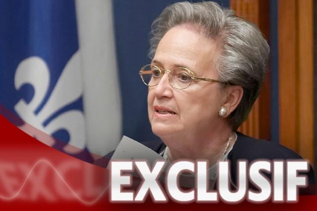 L'automne dernier, Mme Thibault avait témoigné en commission... (Photo: PC)