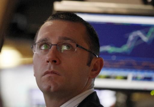 Le creux du maître-indice new-yorkais Standard&Poors 500 le... (Photo: Reuters)