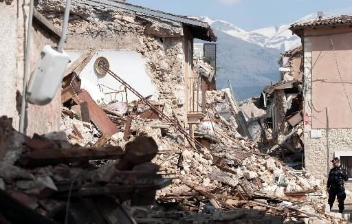 Onna, un village à quelques kilomètres de L'Aquila... (Photo: AFP)