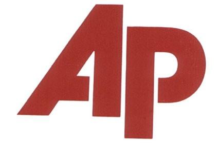 Le logo de AP...