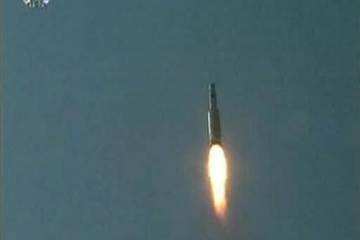 Un missile de type Taepodong-2 lancé par la... (Photo: Reuters)