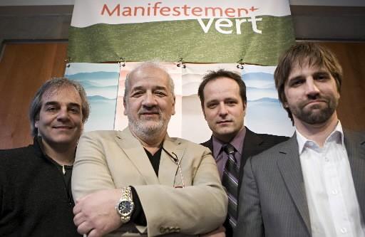 Jean Lemire, Francois Tanguay, Jocelyn Desjardins et ...