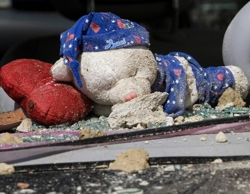 Les habitants d'Onna ont tout perdu dans le... (Photo: Reuters)