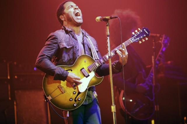 Lenny Kravitz... (Photo: AP)