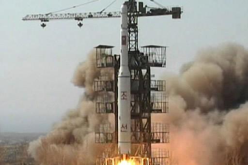 Voici les premières images du missiles nord-coréens.... (Photo: AP)