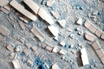 Cette image satellite montre les différents framents de... (Photo: Bloomberg)