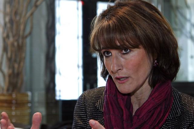 La ministre de la Justice, Kathleen Weil... (Photo: Robert Mailloux, La Presse)