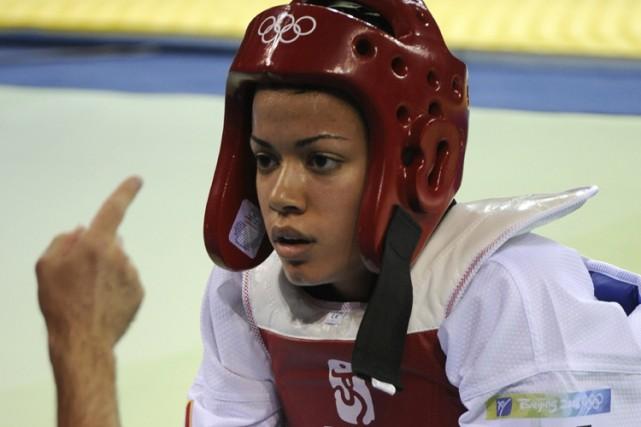 Karine Sergerie a été opérée à une hanche... (Photo: Bernard Brault, La Presse)