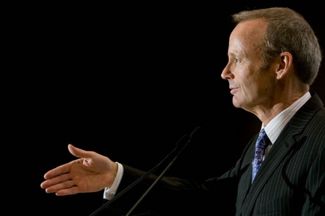 Stockwell Day... (Photo: André Tremblay, La Presse)