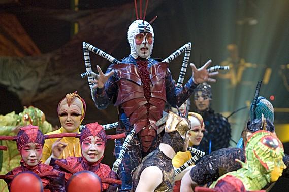 Tout novo, tout beau. Le Cirque du Soleil a pondu un nouveau spectacle de... (La Presse, Alain Roberge)