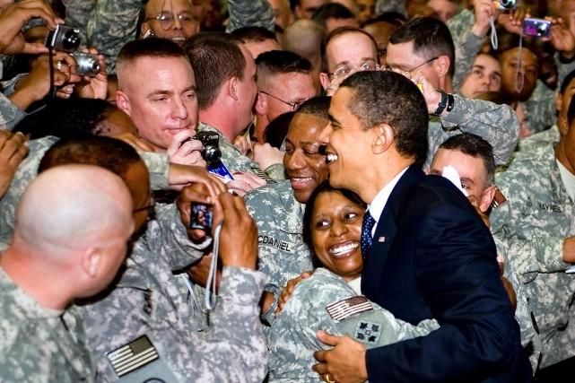 Le président Barack Obama a fait hier une... (Photo: Reuters)