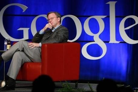 Le PDG de Google Eric Schmidt... (Photo: AFP)