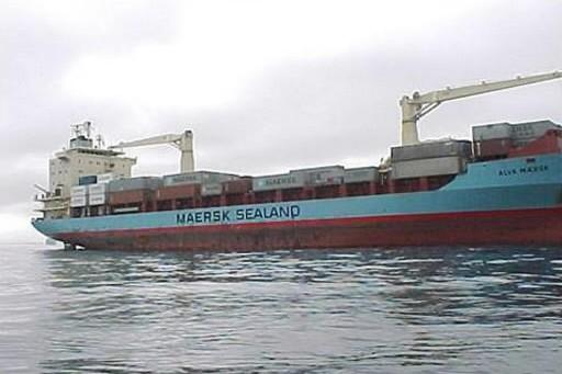Le Maersk Alabama... (Photo: AP)