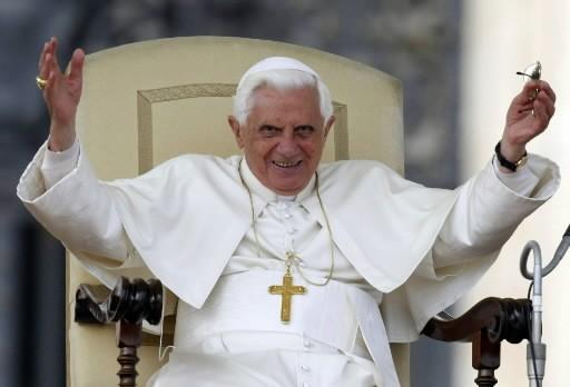 Benoît XVI... (Photo: AP)