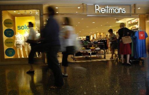 Le détaillant montréalais Reitmans est sur le point de réaliser une acquisition... (Photo archives La Presse)