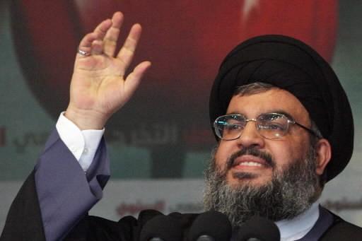Le leader du Hezbollah, Sayyed Hassan Nasrallah.... (Photo: Reuters)