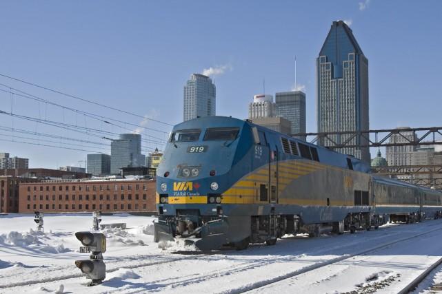 Malgré une hausse marquée de la circulation ferroviaire depuis les années 90,... (Archives La Presse)