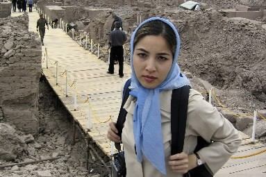La journaliste Roxana  Saberi.... (Photo: Reuters)