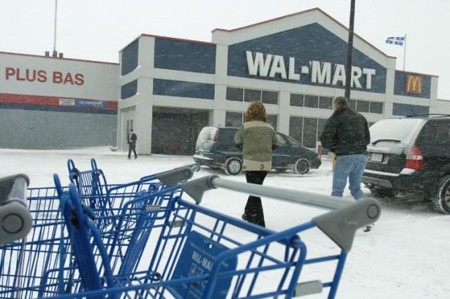 Le magasin Wal-Mart de Saint-Hyacinthe... (Photo: Alain Roberge, La Presse)