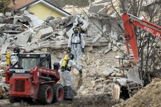 Le bilan du terrible séisme de lundi dans le centre de l'Italie pourrait... (Photo: AP)