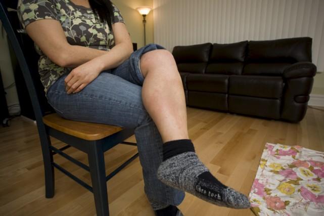 Le Montréalais Sylvain Céré a acheté un sofa... (Photo: André Pichette, La Presse)